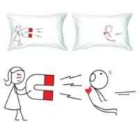 BuldumBuldum Love Pillow - Aşk Yastıkları - Benim Kalbimden Seninkine