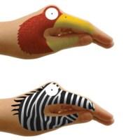 BuldumBuldum Tattoo Hands - Dövme Eller - Animal (Hayvan)