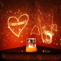 BuldumBuldum Star Lover - Romantik Projeksiyonlu Gece Lambası