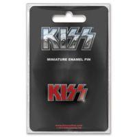 Rock Off Kiss Logo Mini İğne Badge