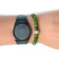 Toptancı Kapında Yeşil Saat Yanı Bileklik