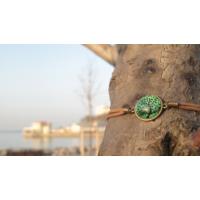 Yeşil Ağaçlı Bileklik