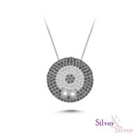 Silver & Silver Sonsuz Nazar Kolye