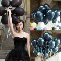 25 Adet 1. Sınıf XL Siyah Renk Balon mm16-25