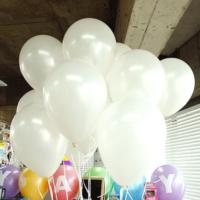 25 Adet 1. Sınıf XL Beyaz Renk Balon mm17-25