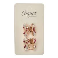 Coquet Accessories 2'li Metal Mandal Toka