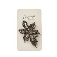 Coquet Accessories Taşlı Çiçek Toka