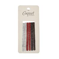 Coquet Accessories 6'lı Simli Firkete Seti