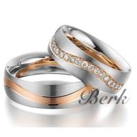 Berk Kuyumculuk Gümüş Alyans 5619 (Çift)