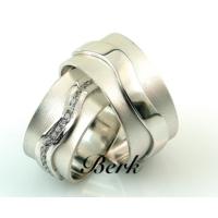 Berk Kuyumculuk Gümüş Alyans 5623 (Çift)