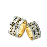 Artalyans Altın Elişi Alyans Art42-3582