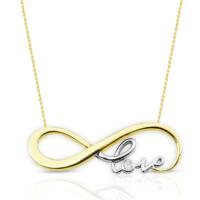 Melis Gold Gümüş Love Kolye Gkly0027