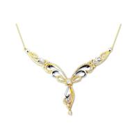 Melis Gold Gümüş Taşlı Gerdanlık Kolye Gkly0052