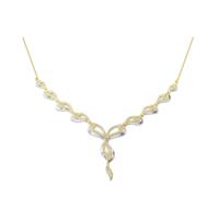 Melis Gold Gümüş Taşlı Gerdanlık Kolye Gkly0053
