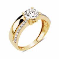 Melis Gold Swarovski Taşlı Taşlı Yüzük Ay0000199