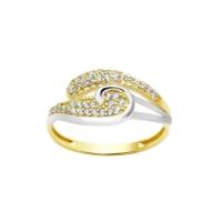 Melis Gold Altın Taşlı Yüzük Ay0000294