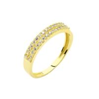 Melis Gold Altın Yarımtur Yüzük Ay0000314