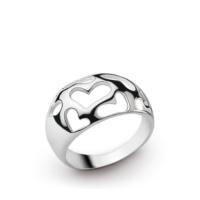 Ejoya Spor Gümüş Kalpler Yüzük 11