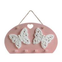 Ejoya Gifts Kokulu Taş Kelebek Anahtarlık Askısı