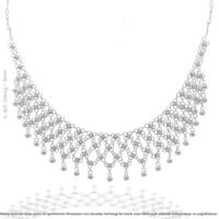 Midyat Gümüş 4 Sıra Kişniş Bayan Kolye