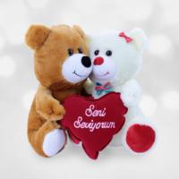 Sevgiliye Hediye Romantik Peluşlar Aşk Öpücüğü