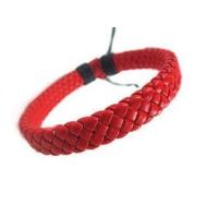 Yeni Sezon Erkekler ve Bayanlar için Uniseks Örgülü Kırmızı Bileklik