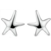 Myfavori Küçük Deniz Yıldızı Küpeler Şık Gümüş Kaplama Küpe Takı Aksesuar
