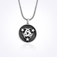Mina Silver Osmanlı Mit Logo Teşkilat Mahsus Taşsız Erkek Gümüş Kolye