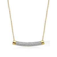 Ferreguer Diamond Kolye 14 Ayar Altın AT200127