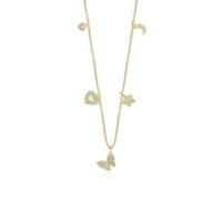 Ferreguer Diamond Kolye 14 Ayar Altın AT200167