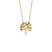 Ferreguer Diamond Kolye 14 Ayar Altın AT200170