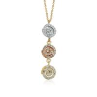 Ferreguer Diamond Kolye 14 Ayar Altın AT200172