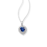 Ferreguer Diamond Okyanusun Kalbi Kolye