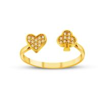 Allegro Gold Altın Şans Yüzüğü AGT0506