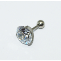 Cadının Dükkanı 316L Cerrahi Çelik Taşlı Kulak Piercing