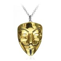 Modakedi Altın Dore Vandetta Maskesi Erkek Kolye