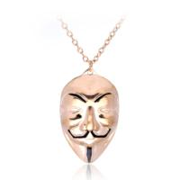 Modakedi Bronz Vandetta Maskesi Erkek Kolye