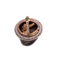 Sümer Telkari Kız Kulesi Özel Tasarım Gümüş Yüzük 46