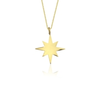 Else Silver Star Kolye