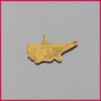 Tuğrul Kuyumculuk Yeşil Altın Taşsız Kolye Ucu