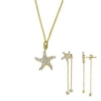 Tuğrul Kuyumculuk Anneler Gününe Özel Deniz Yıldızı Altın Set