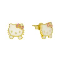 Tuğrul Kuyumculuk Altın Hello Kitty Küpe