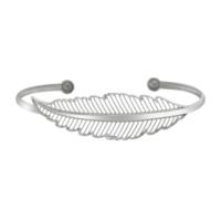 Argentum Concept Kuş Tüyü Motifli Gümüş El Bileziği