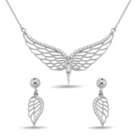 Argentum Concept Zirkon Taşlı Gümüş Melek Set