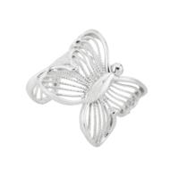 Argentum Concept Kelebek Motifli Gümüş Kıkırdak Küpe