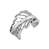 Argentum Concept Yaprak Motifli Gümüş Kıkırdak Küpe