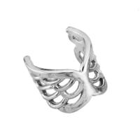 Argentum Concept Melek Kanadı Motifli Gümüş Kıkırdak Küpe