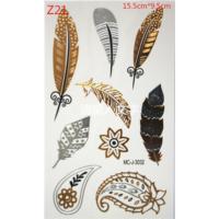 Leydika Flash Tattoo Geçici Metalik Dövme 497