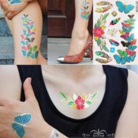 Leydika Illia Kelebek Flash Tattoo Geçici Dövme 250