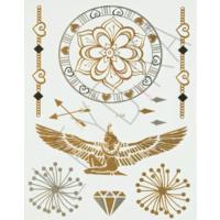 Leydika Flash Tattoo Geçici Metalik Dövme 431